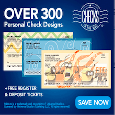 Checks in the Mail Personal Bank Checks