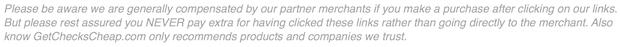 GetChecksCheap FTC Disclosure