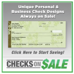 Unque Personal and Business Checks on Sale