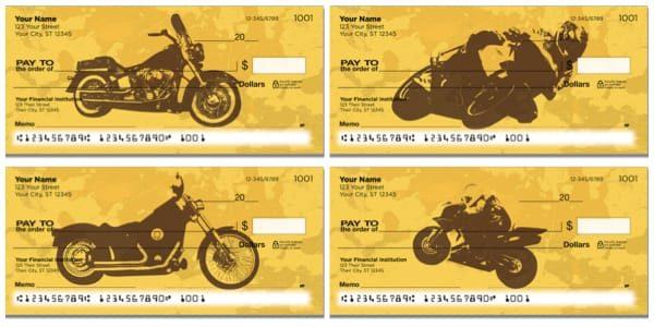 Motorcycle Mix Personal Checks