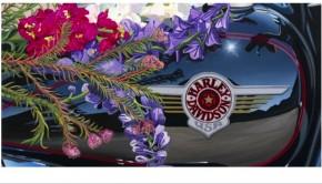 Scott Jacobs Harley-Davidson Painting