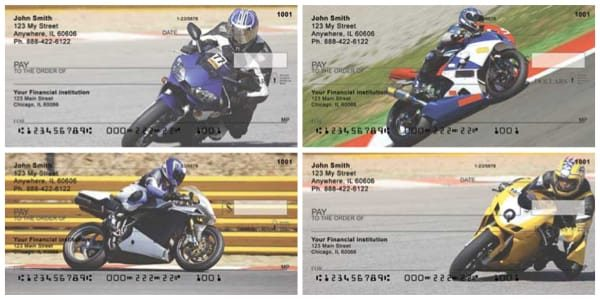 Superbikes Personal Bank Checks