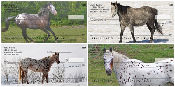 Appaloosa Horses Personal Checks