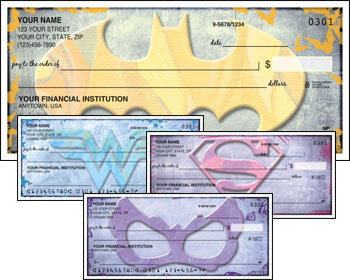 Girls of DC Comics Checks, Superhero Checks