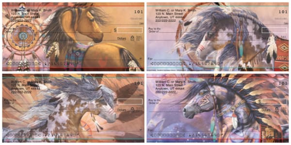 Painted Ponies Personal Checks