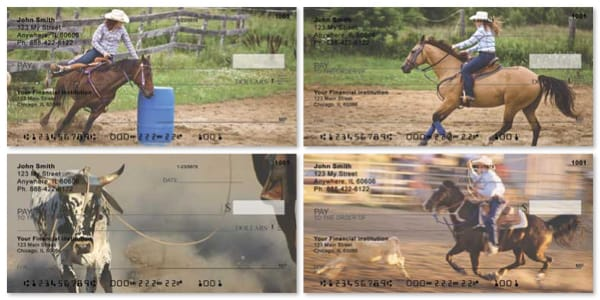 Rodeo Games Personal Checks