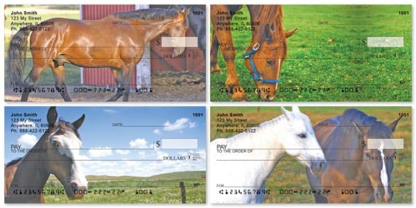 Scenic Horses Personal Checks