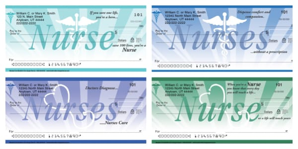 Nurses Cure Personal Checks