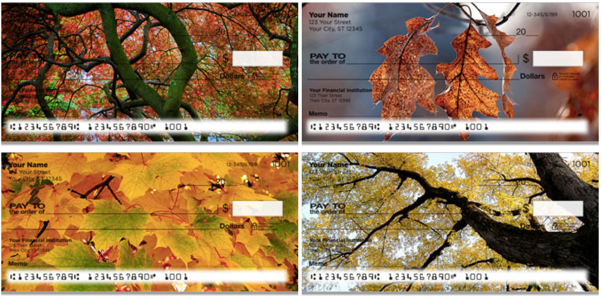 Colors of Fall Checks