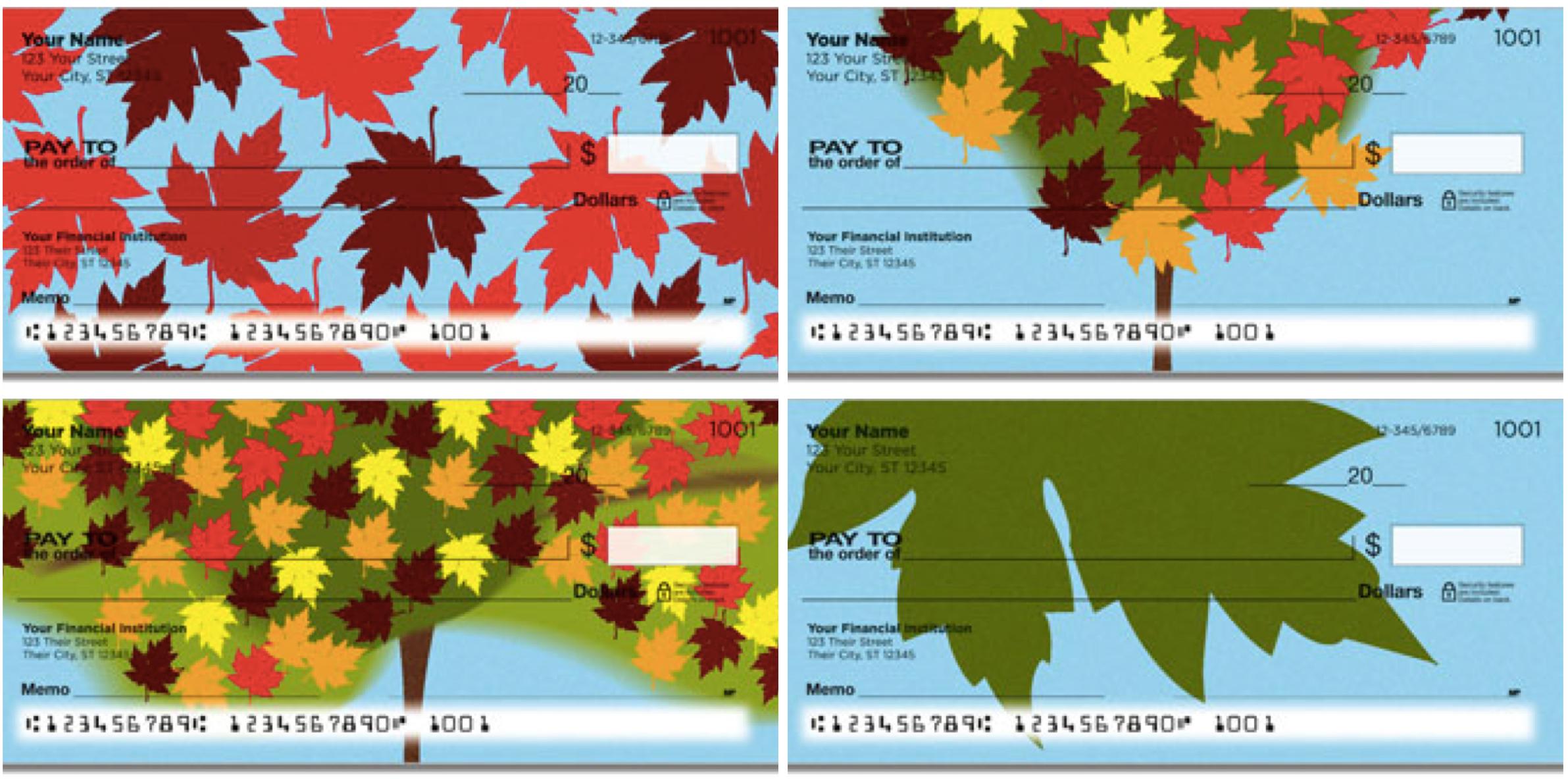 Maple Leaf Checks