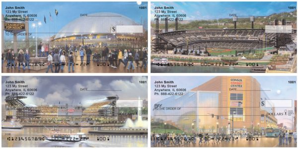 Pittsburgh Stadiums Personal Checks