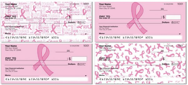 Artist Tara Reed Pink Ribbon Breast Cancer Checks