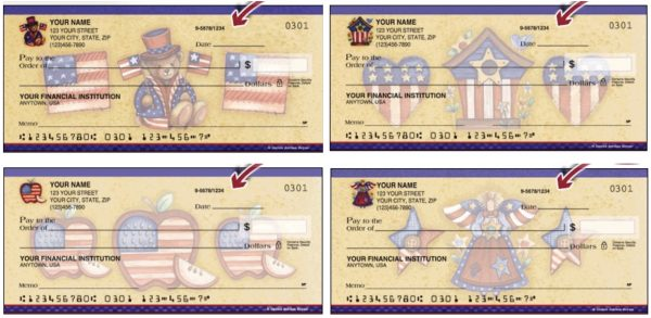 Teddy Bear and American Personal Checks