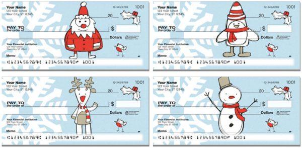Christmas Doodle Checks