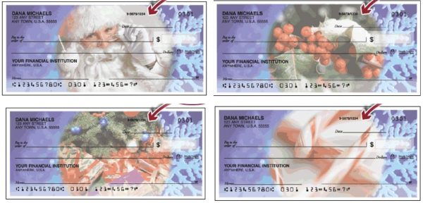 Happy Holidays Checks