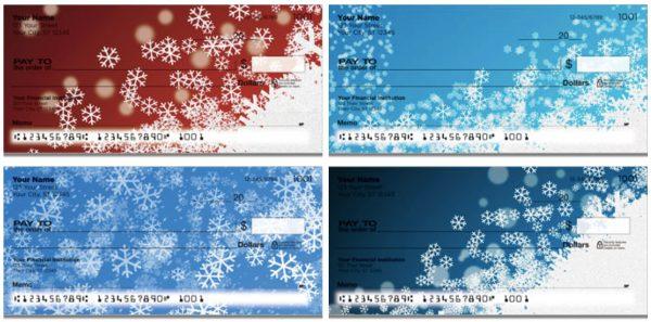 Holiday Snowflake Checks