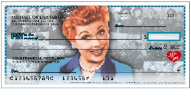 I Love Lucy Checks