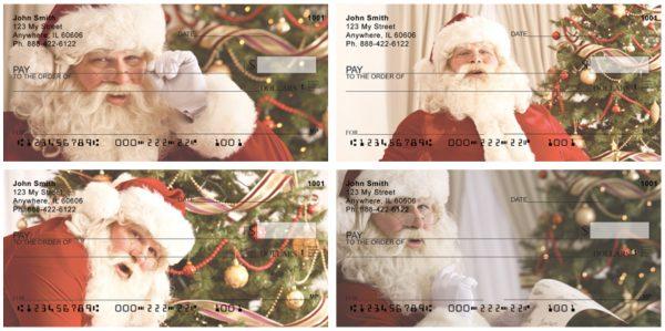 Santa Claus Personal Checks