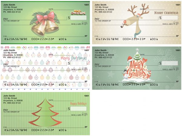 Special Occasion Gift Checks Christmas Pack