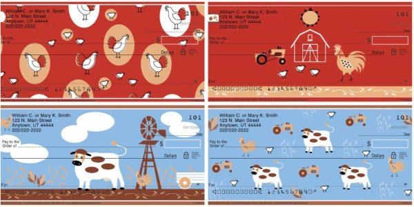 Challis & Roos American Farmhouse Personal Checks