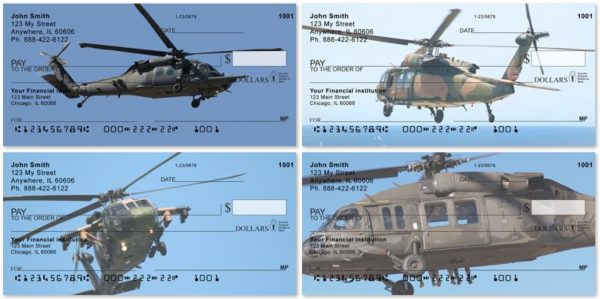 Blackhawk Choppers Personal Checks