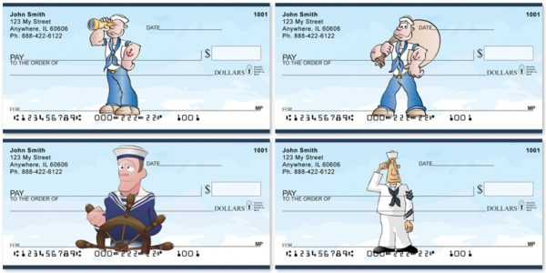 US Navy Fun Personal Checks
