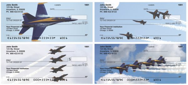 US Navy Stunt Planes Personal Checks