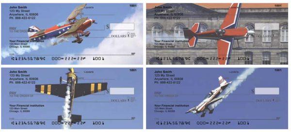 Stunt Planes Personal Checks