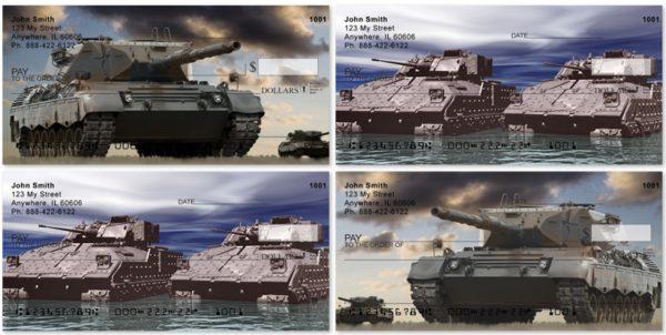 Military Tanks Personal Checks
