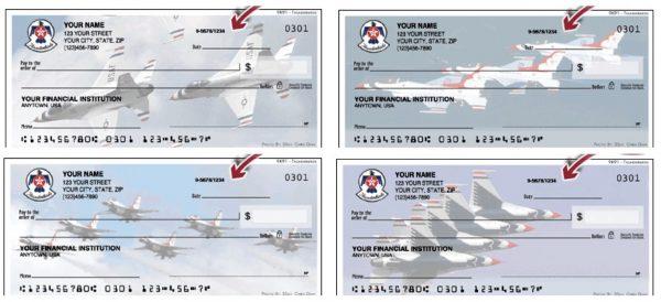 US Air Force Thunderbirds Checks