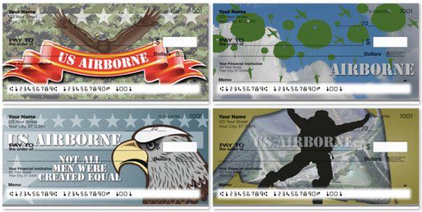 U.S. Army 101st Airborne Screaming Eagle Checks