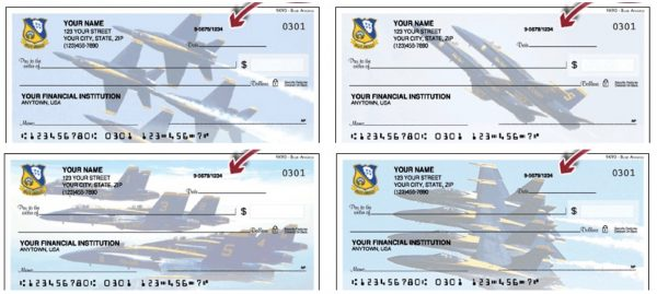 US Navy Blue Angels Checks