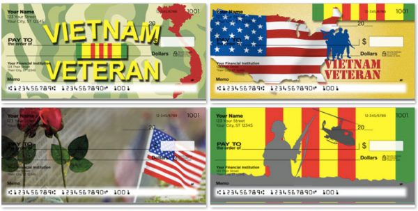 Vietnam War Veterans Personal Checks