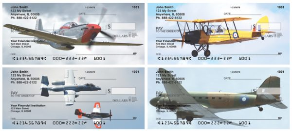 Vintage Warbirds Personal Checks