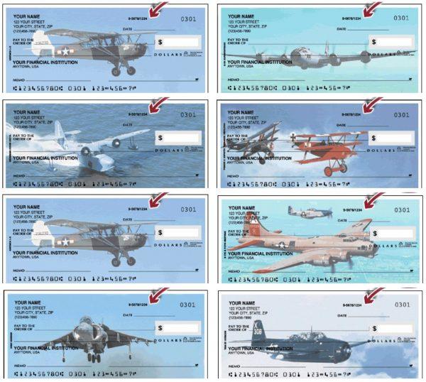 Warbirds Plane Personal Checks