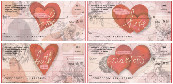 Full of Heart Personal Checks
