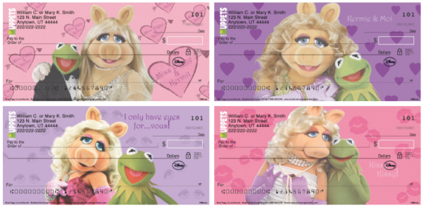 Miss Piggie Loves Kermie Checks