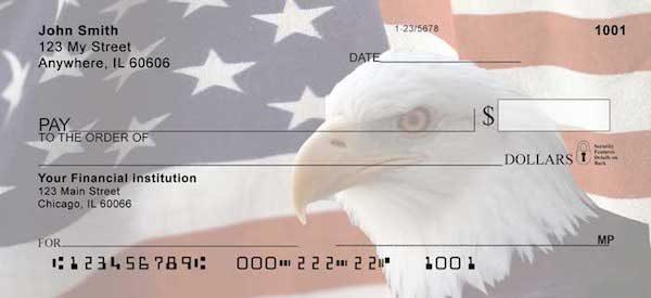 Soaring Over America Bald Eagle Checks