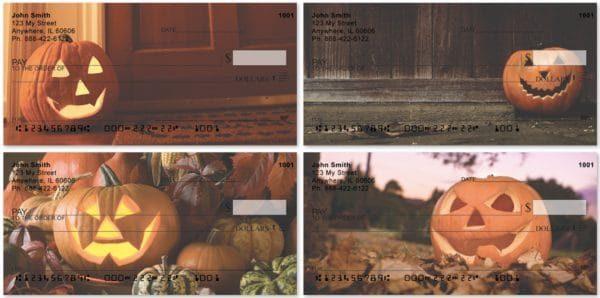 Jack-O-Lanterns Personal Checks