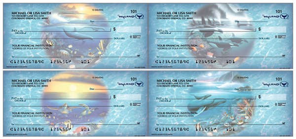 Ocean Wonderland Personal Checks