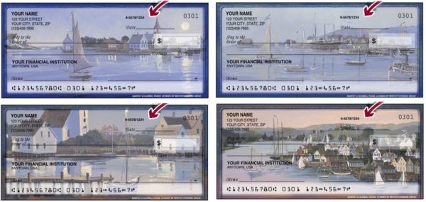 Sailing Away Personal Checks