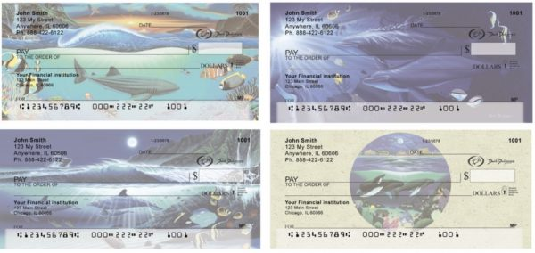 Sea Animals Personal Checks