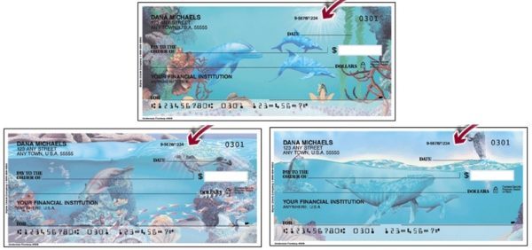 Underwater Fantasy Personal Checks