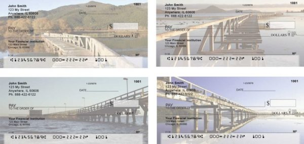 Bridge Over Water Personal Checks
