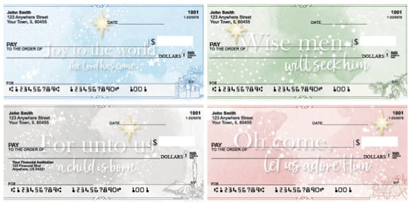 Christ-mas Personal Checks