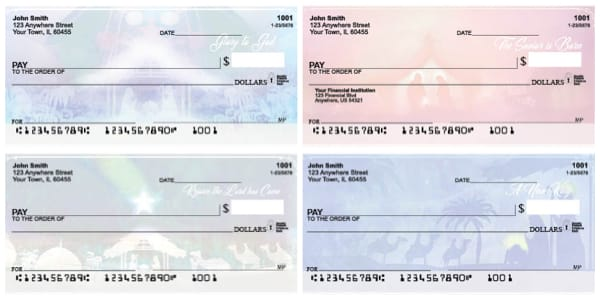 Miracle in the Manger Personal Checks