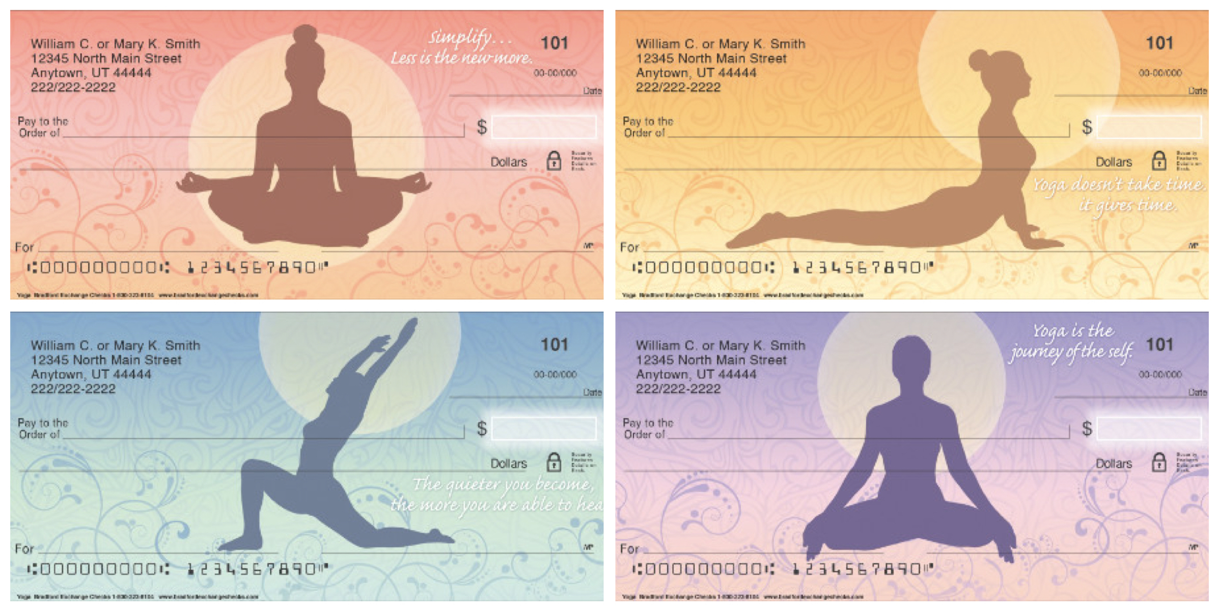 Zen Yoga Checks