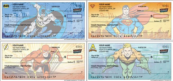Justice League Checks