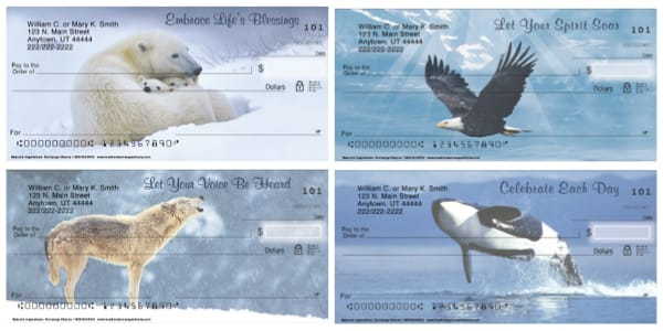 Natures Inspirations Wildlife Personal Checks