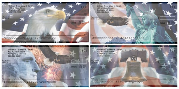 Spirit of America Eagle Personal Checks
